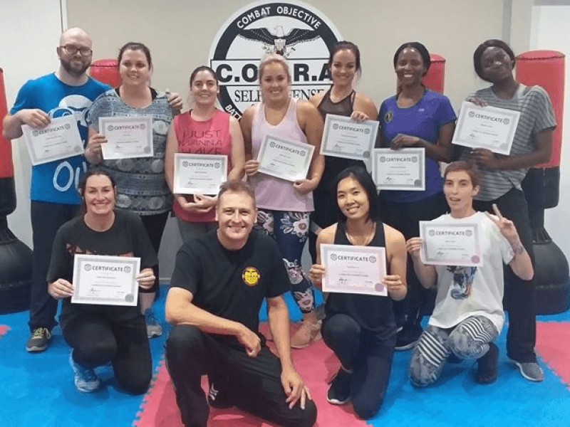 5 Week Self Defense Course for Adults
